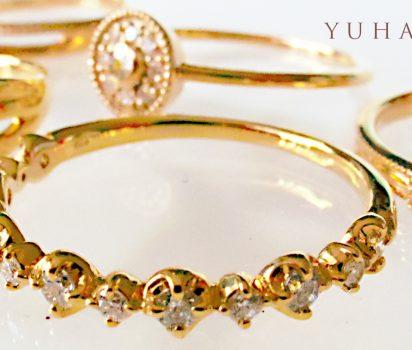 2019年4月11日21時~14日23時59分【期間限定受注販売】YUHAN jewelry 発売開始です。